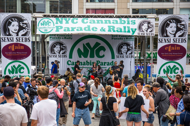 cannabis parade