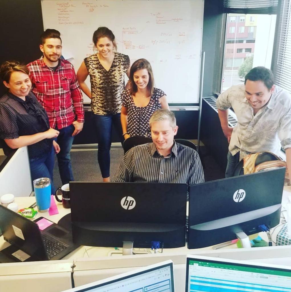 Wurk office employees