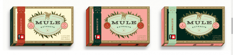 mule extracts product packaging